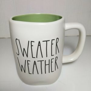 Rae Dunn Sweater Weather Mug NEW
